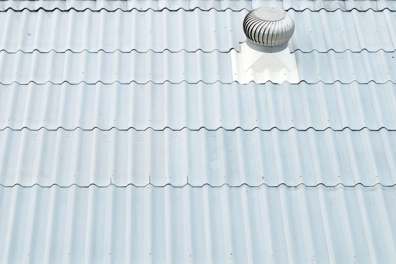 Roof ventilator install on white roof Cool Cooling  Duct HVAC Roof Top Winter Control Fan Outdoor Pattern Roofing Temperature Vent Ventilator