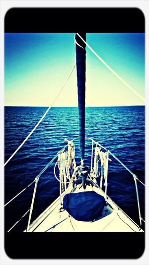 On my grandfathers boat in flordia. Ocean Grandfather Going Sailing Family Matters