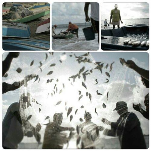 Pescadores de Jinga Praiadaredinha