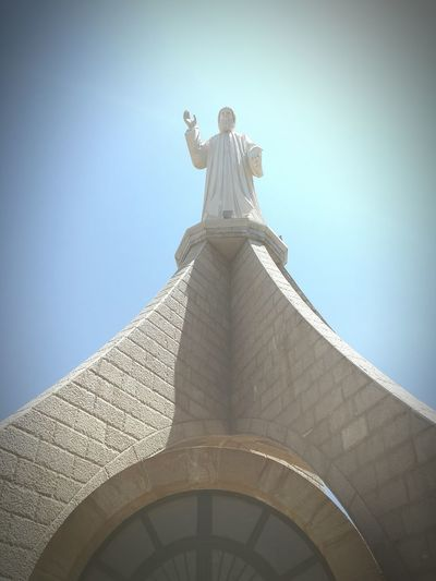 Lebanon Sculpture Statue Saint Religion Architecture Church Spirituality Cathedral Place Of Worship Christianity Fine Art Statue Catholicism Jesus Christ Cross
