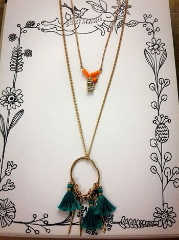 Handmade Jewellery Twig Love Newdesign 璦薇兒Doris Necklace