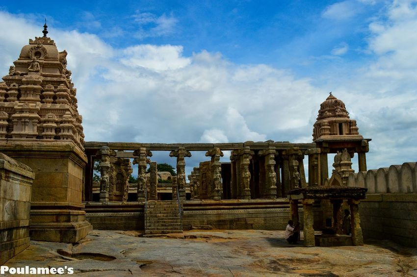 Lepakshi Andrapradesh India Indiansculpture Clearsky Taking Photos Oldmonument Architecture Nikon D3200