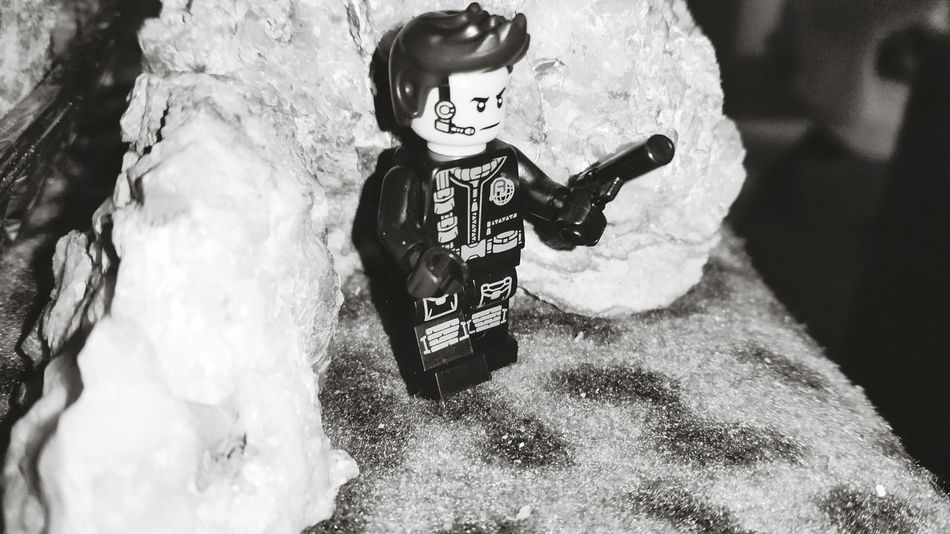 Indoors  Growth Day Backgrounds LEGO Lego Minifigures Quartz Rocks No People Fragility Lego Man Mobilephone Photography Australianphotographer Through My Lens Close-up