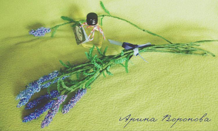 Лаванда...горная лаванда My Handmade Flower