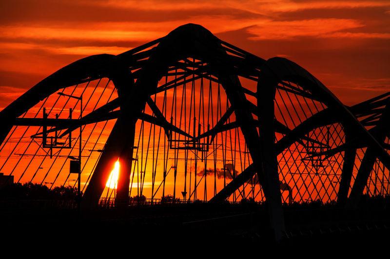 Amsterdam Sunset Sky Skyporn Colors Nicholas Grimshaw Architecture Cityscapes Bridge