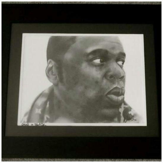 ArtWork Portraits Art, Drawing, Creativity Jay-Z  Jayz HipHop Art Pencil Portrait Pencildrawing Pencil Drawing