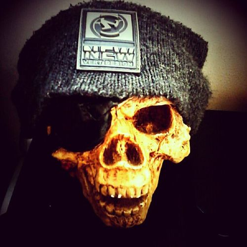 Skull Newskate Skateboarding Nice doidera cranio lol crazy