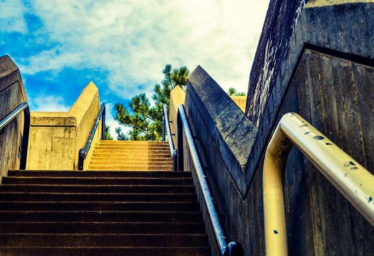 Stairs Outdoor Photography Urbanphotography Streetphotography Cincinnati Yeatman's Cove Guard Rail Hand Rail