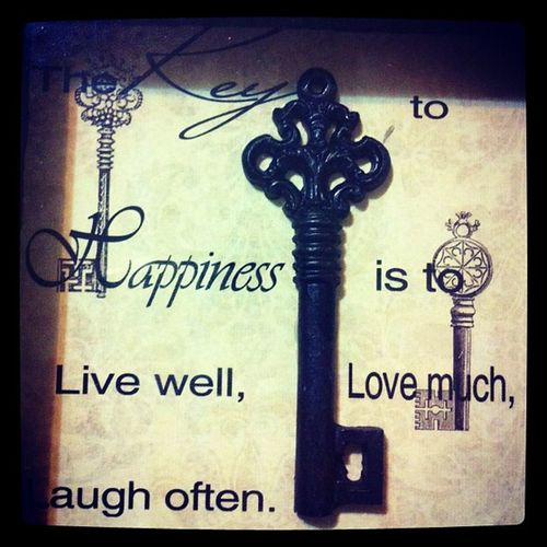 The Keytohappiness