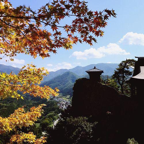 Autumn Colors Nature at Yamagata, Japan Mountain View EyeEm Best Shots EyeEm Nature Lover 宝珠山 立石寺 山寺 山形県