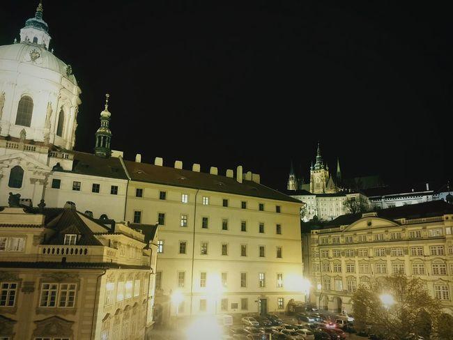 Prague Castle PragueByNight Christmas Lights Praguepanorama