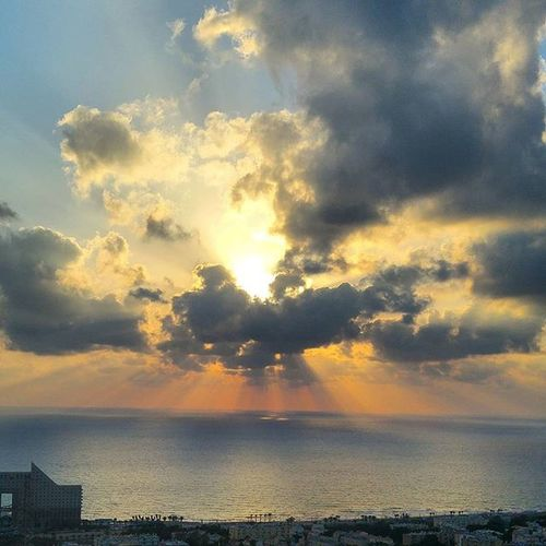 Divine spirit Shekhinah Divinespirit Divine Creation New Beginning Health Sea Ocean Sun Love You Travel Cloud Clouds Light Lights Haifa Israel Insta_Israel Israel_best Sky Skyline Beautiful Beauty