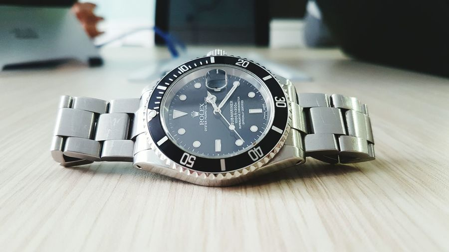 Time Close-up Clock Face Watch Clock No People Hour Hand Minute Hand Day rolex