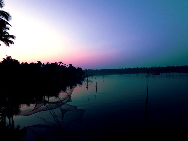 The Great Outdoors - 2017 EyeEm Awards The Week On EyeEm Beauty In Nature Clear Sky Lake Nature Outdoors Reflection Scenics Silhouette Sky Sunset Tranquil Scene Tranquility Tree Water