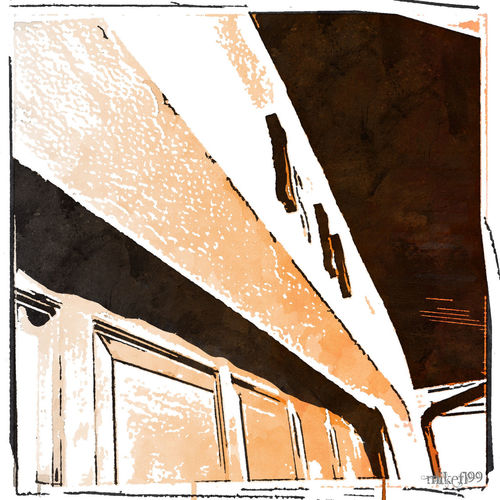 Front Garage Door Cartoonish Taking Photos Check This Out Artsy Popular Photo Cameraneverstops Digital Painting Watercolours Watercolors  Hello World