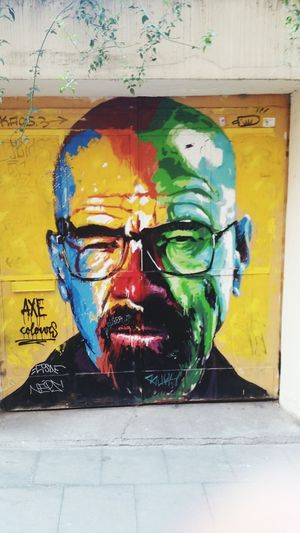 Breaking Bad Grafitty One Person One Man Only Multi Colored Men Only Men First Eyeem Photo