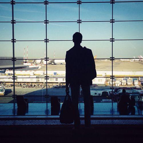 Aeroport Travel Traveling Shadow Window Story Dreaming Trip