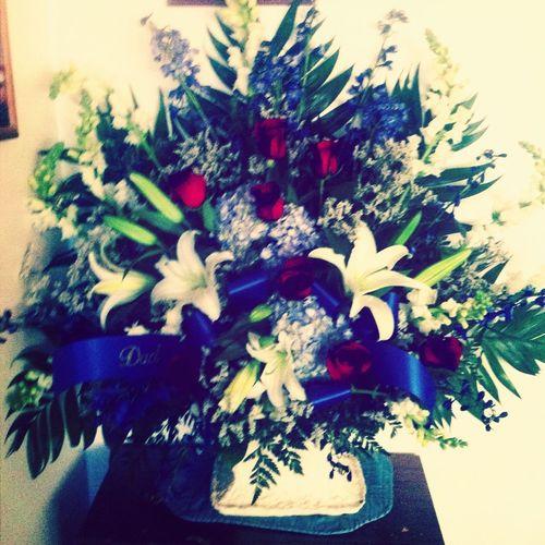Grandpas flowers