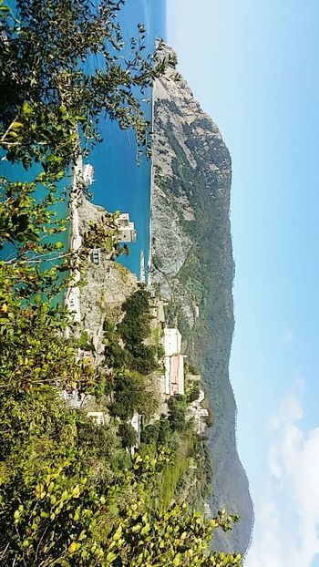 Mountain Sky No People Outdoors Tree Nature City 🇮🇹 Italy 5 Terre Beach Water Blue Beauty In Nature High Angle View Tree Nature 5 Terre Italia Landscape Architecture Built Structure Day Building Exterior
