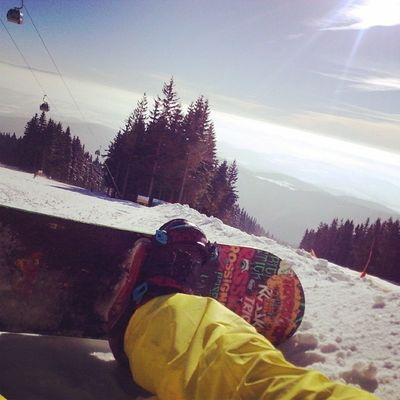 Snowboard Było Fajnie Wszyscy tampalą