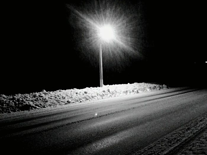 It's Cold Outside Winter Nightphotography Black & White Blackandwhite Black And White Snow Winter Magic Magic Happy Cristmas