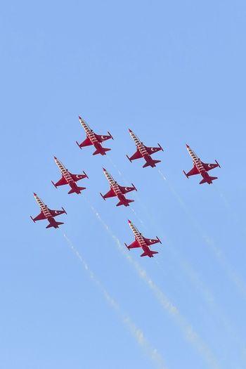 Turkish Stars Aerobatic Team. Alsancak - İzmir / Turkey Sky Entertainment Jet Air