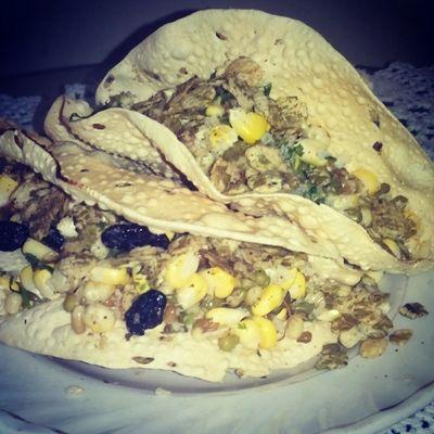 Papad Tacos! Innovative Food