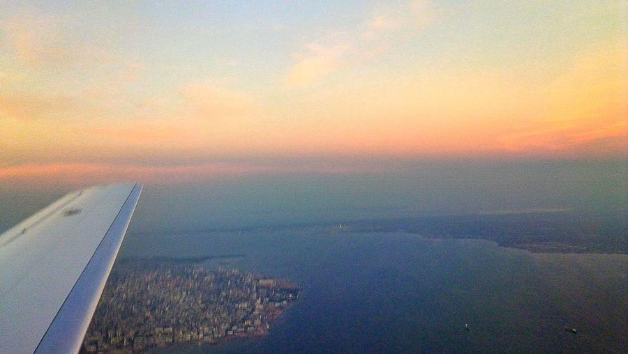 Landscape My Point Of View Sunset Fromairplanewindow Hechoenvenezuela Maracaibo Lago De Maracaibo Venezuela