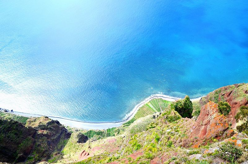 580Meters+ Madeira Tourism Water Mountain Outdoors Nature Blue Beauty In Nature No People Funchal