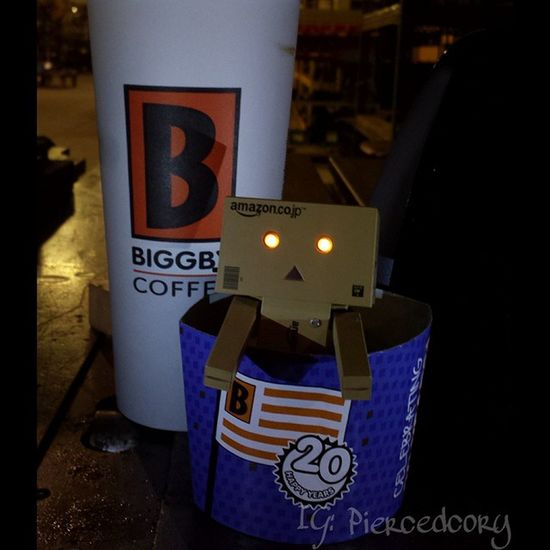 Get charged up with @biggbycoffee celebrating 20 years in business! Coffeeordeath Coffee Biggby