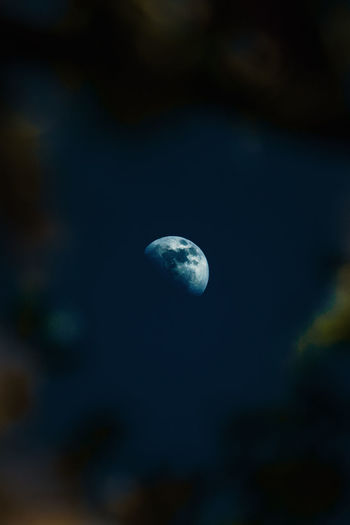 Astronomy Beauty In Nature Blue Cloud - Sky Dark Discovery Environment Exploration Moon Nature Night No People Outdoors Planet - Space Scenics - Nature Sky Space Tranquil Scene Tranquility