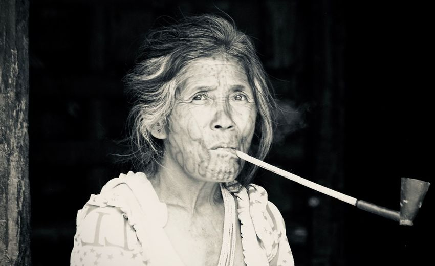 Tribos Tatoolifestyle Portrait One Person Real People Headshot Adult Front View The Portraitist - 2018 EyeEm Awards Contemplation Lifestyles