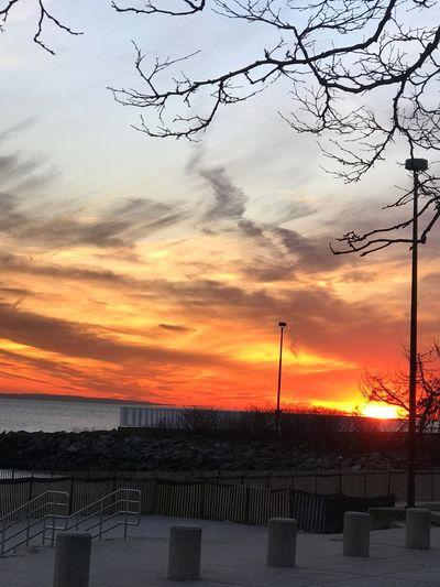 Sunset wonderfull view