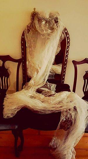 Antique wedding veil Antique Wedding Veil 1920 Mirror Antique Chairs Vintage