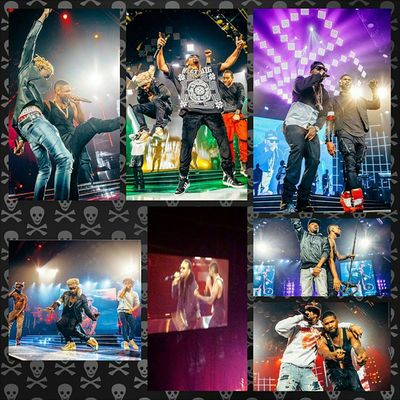 I had a blast at the Usher Concert URXTOUR thank you to @unekology for bringing me with. Special guests include Jermainedupree JuicyJ TI  Ludacris Liljon Youngjeezy Youngthug Raesremmurd and co headliner AugustAlsina ATL