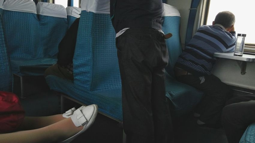China Photos Train People People In Transit