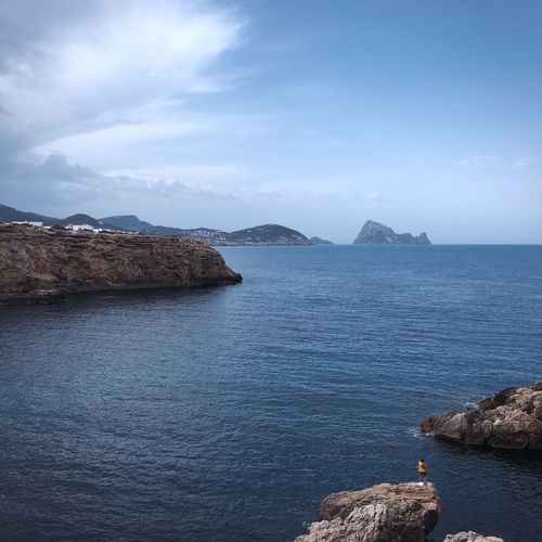 Try to find some peace... Found On The Roll 95% Hidden Gems  Beauty In Nature Summertime Seaview Ibiza Adventure Club What's On The Roll