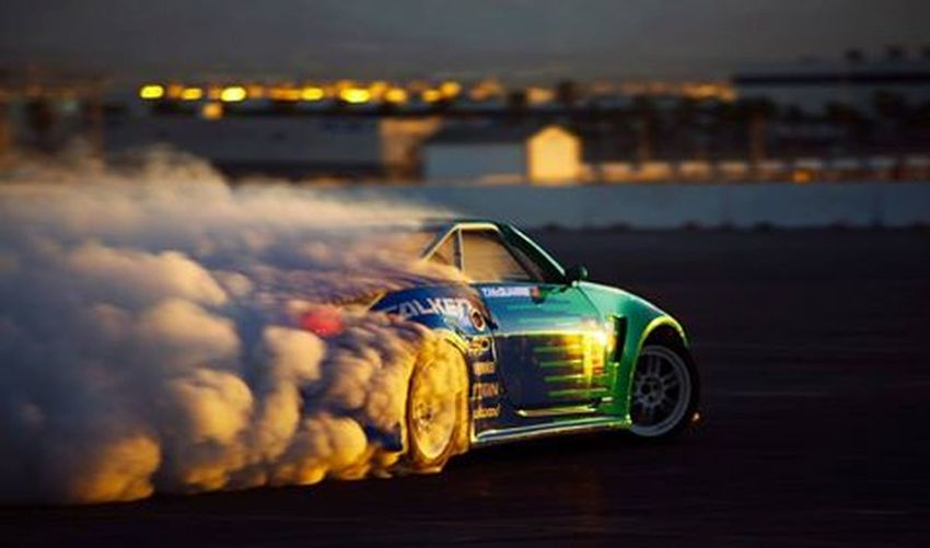 First Eyeem Photo Cars Drifting Smoke Duststorm Sporty Green Color