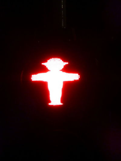 Black Background Close-up Communication Control Copy Space Dark Direction Don't Glowing Illuminated Interdiction Light Lighting Equipment Night No People Red Red Light Road Sign Sign Single Object Studio Shot #FREIHEITBERLIN