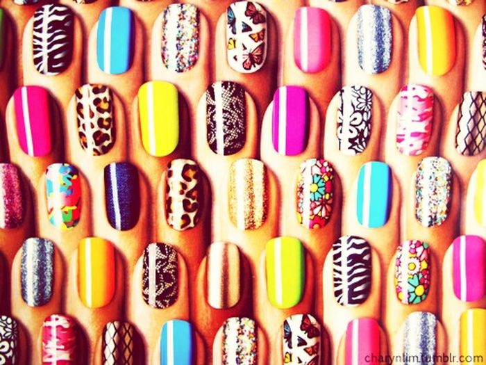 nails#swag#colour