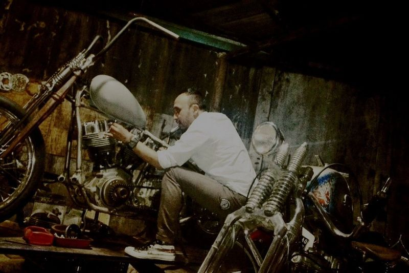 Shovelhead Custom Bikes Bike Ride Great Atmosphere 35 Garage Custom Classic Motorcycles