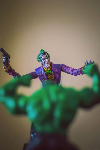 Taking Photos Check This Out Photography Toys Joker Thejoker Hulk Hulksmash Injustice Dccomics DCcomic Geek Deluxe Chile Chilling