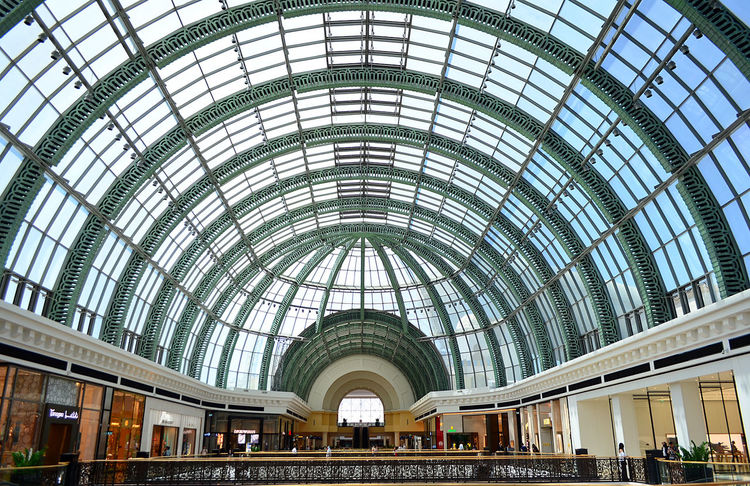 Dubai Dubai Photos For Sale Mall Of The Emirates Shopping Malls Skylight Stock Photos