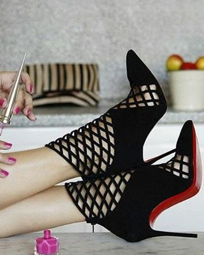 And these.... Christianlouboutin Shoes Heels HighHeels RedBottoms