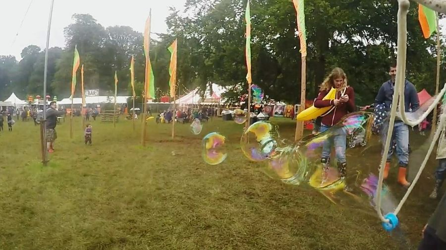 Kendal Calling 2015, i think this really captures the atmosphere of the festival 120fps Go Pro Hero 4 Slow Motion Bubble Blower Bubbles Kendal Calling 2015