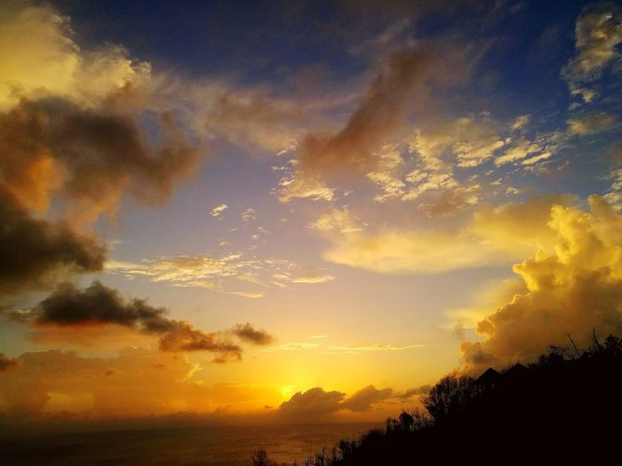 Sunset Stbarths Dramatic Sky First Eyeem Photo