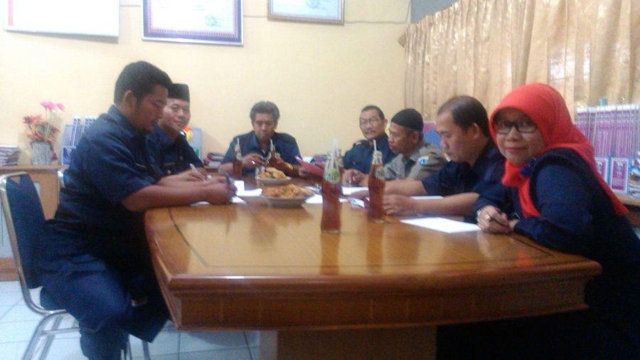 Rapat pemilihan Wakil Kepala Sekolah SMPN 202 Jakarta