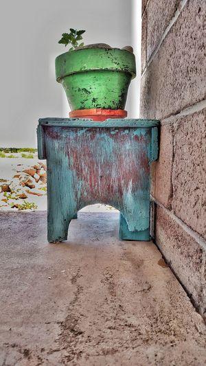 Yard Art Distressed Paint Woodworking Planter Pot Plants 🌱 Eyeemphoto Fresh On Eyeem  The Week On EyeEm