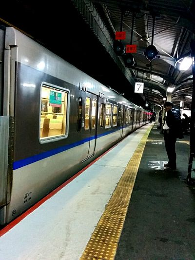 色々切羽詰まってきました。帰ります。🐸😜 Public Transportation Railway Station Go Home