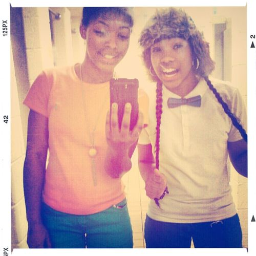 me & Tati (:
